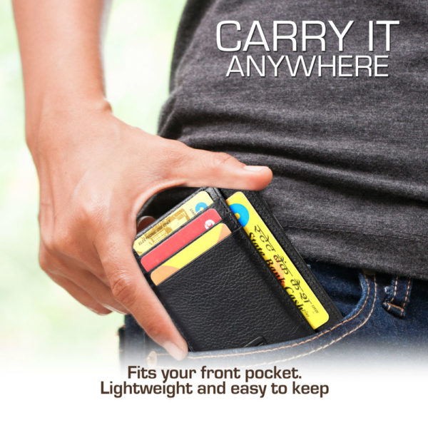 fashion freak slim wallet card holder for men